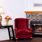 Anchorage Inn Burlington Fireplace Pic